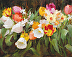 Spring with Tulips and Daffodils, 16x20 by Kathy Anderson