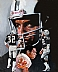 Marcus Allen - NFL Running Back by Jerry Thierolf