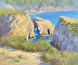 Point Lobos Arches Reflections by Tatyana Fogarty