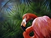Fancy Feathers Flamingo by Anita Johnson