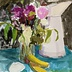 Paris Pitcher and Spring Flowers by Julia Ralston