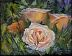 Three Garden Roses by Beth Page