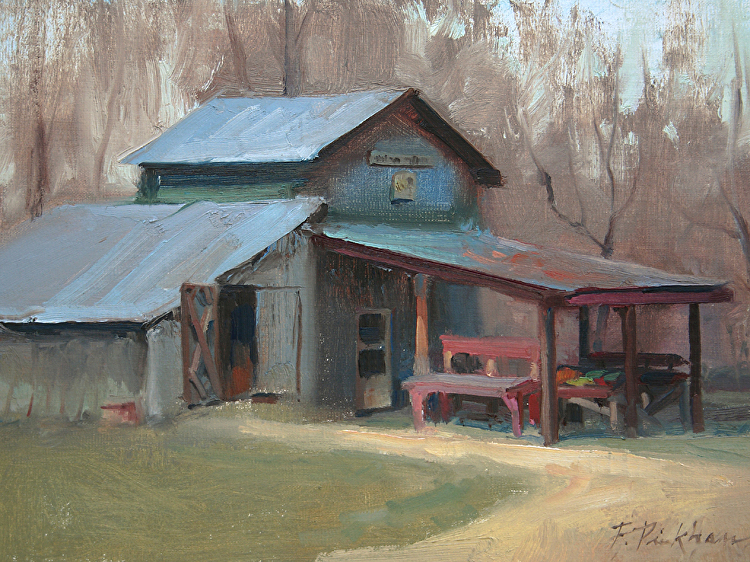 Produce Stand - Oil
