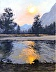 Evening along the Merced River by Peggy Orbon