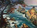 Point Lobos Red by Galerie Plein Aire
