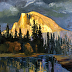 Half Dome Light by Galerie Plein Aire