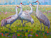 Winter Visitors by Rene Wiley, original is 30 x 48 inches by Rene Wiley Gallery