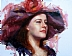 Flowered Hat by Suellen McCrary