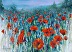 Beyond the red poppies by Bonnie Junell