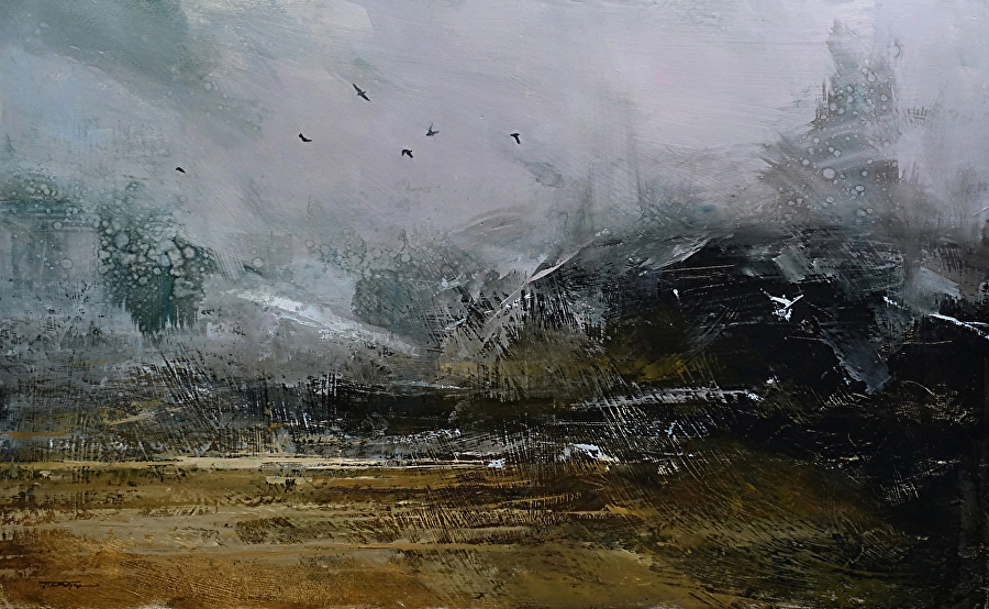 Tibor Nagy Work Zoom The Birds