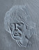 Mick Jagger Relief Sculpture by Stephen Federico