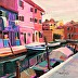 Burano Boats final650 by Northeast Art Workshop Retreats LLC