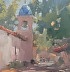Morning at Tlaquepaque by Gretchen Lopez