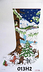 013H2   Forest Animals Dancing/ Night Snow Scene on 13 mesh by MM DESIGNS  Needlepoint