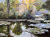 The Steps at the Lily Pond, Monet Garden Series by Penny French-Deal