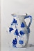 Blue and White Pitcher by Mary Jo O'Gara