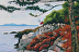 Lighthouse-San Juan Islands-Washington State - Oil by Kansas Art Guild