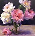 Peony Love Affair by Laurie Johnson