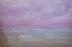 Sonoma Beach Storm Clouds by Leona Dadian Akers