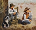 Young Ropers by Yvonne Evans