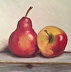 Apple and Pear by Rick Mercer