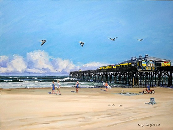 Jerry spangler work zoom sunglow fishing pier daytona for Daytona fishing pier