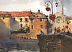Limoux,Pont Neuf by Stewart White