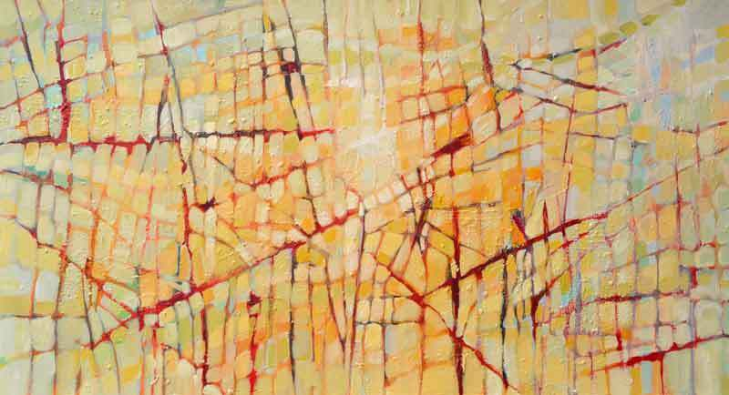 """Making Connections by Filomena Booth Acrylic ~ 20"""" x 36"""""""
