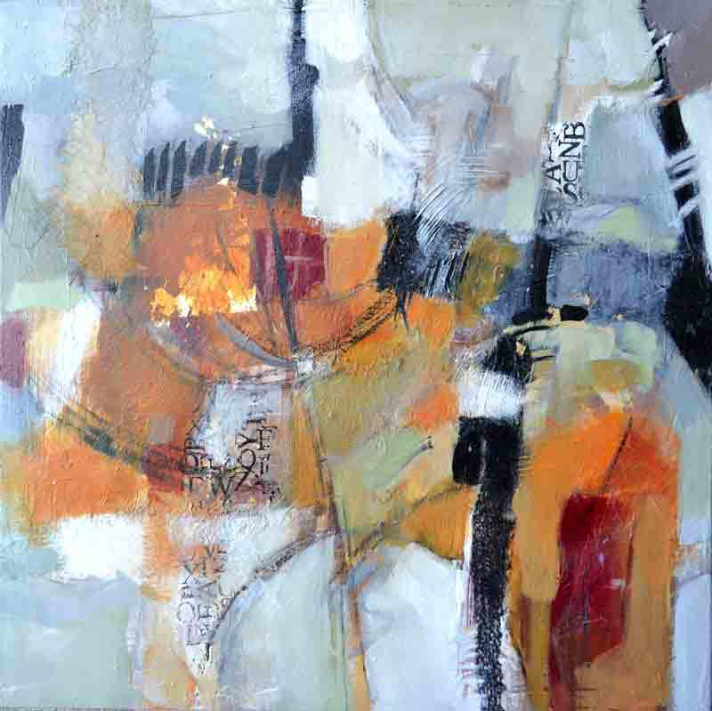 "Artifacts by Filomena Booth Mixed ~ 24"" x 24"""