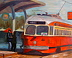 San Francisco Trolley by Nancy Elstad