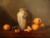 Clementines and Eucalyptus with Vase by Melissa Shelly