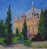 Chateau de Charlesval by Jane Newman