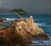 Harmonic Convergence - The Lone Cypress by F. Michael Wood