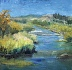Plein Air: Light on the River Bend by marin dobson