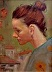 Woman in Profile by Rick Rotante