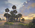 Ozello Trail Sunrise by Laurie Snow Hein