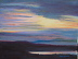 Dawn Over the River 11 by Lynn Brown