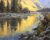 First Light, McDonald Creek by Stacey Peterson