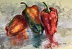 Peppers Reflection by Kathleen Muffie-Witt