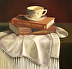 Tea with Rockwell & Rembrandt by Christine Tierney