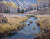 Gros Ventre Tributary by Bruce Peil