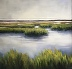 Bridge View; Low Country Marsh October Afternoon by christina dowdy