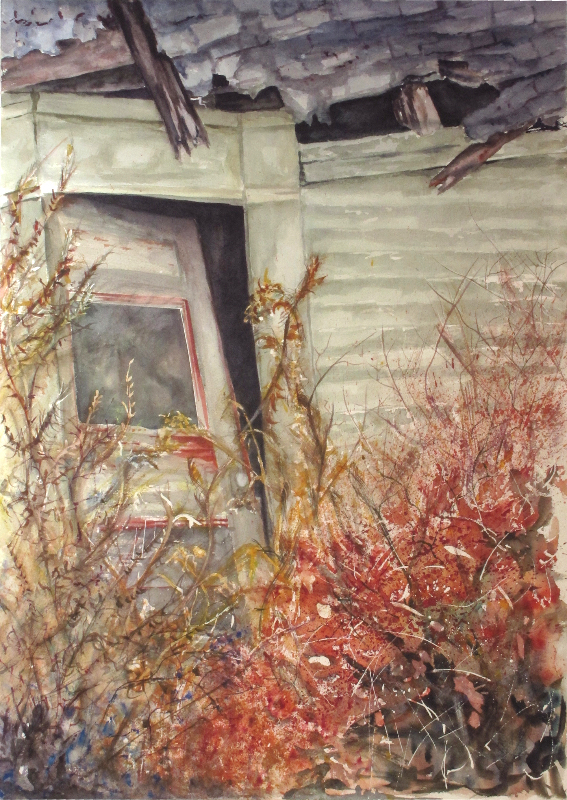 Winterberry in the door yard & An Icon | Kay Carter - Blog pezcame.com
