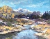 First Snow on the Snake River by Kim Hall