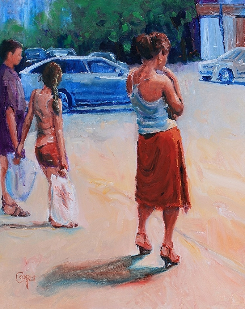 One hot day on sovetskaya by artist karen cooper selected by brian sherwin