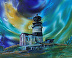 cape disappointment lighthouse by Sandra Yorke