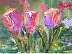 Trois Amies at Monet's Garden - Reprints Available Here by Lisa Boemer - LEB ARTIST