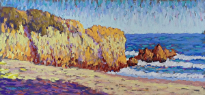 An example of fine art by Allied Artists of the Santa Monica Mountains and Seashore