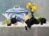 Tureen with Iris and Fruit by Tina Underwood
