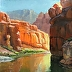 Peaceful Waters by Larry Christensen by Gallery Moab